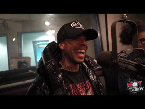 Vic Mensa Shares His Music Playlist With Hot Morning Crew