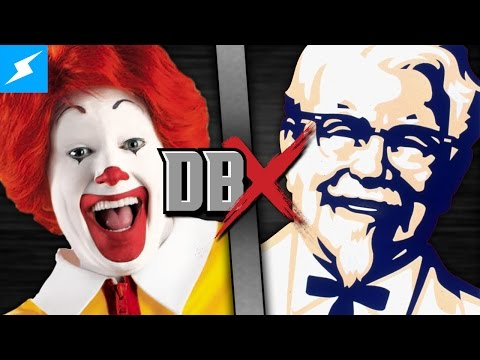 Ronald McDonald VS Colonel Sanders (McDonald