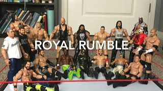 WWE Kid Toys: 20-MAN ROYAL RUMBLE