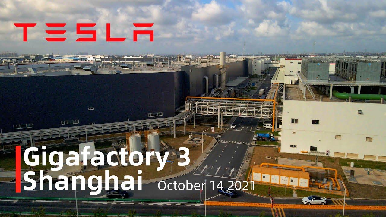 Download (October 14 2021)Tesla Gigafactory 3 Shanghai 4K Video