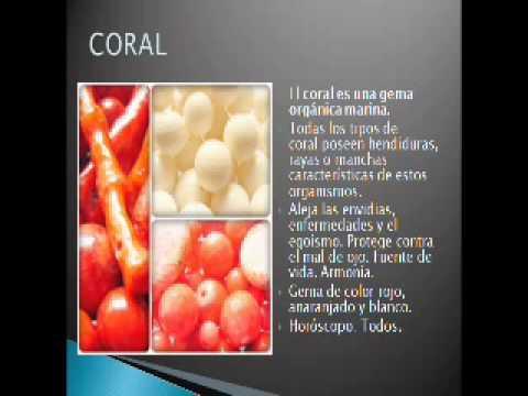 Coral significado de la piedra youtube for Significado de las piedras