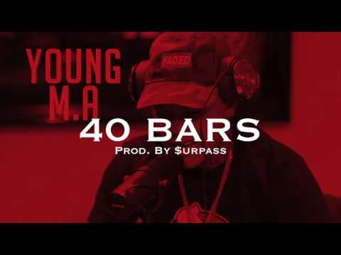 "🔥FREE🔥 Young M.A × G Herbo × Bobby Shmurda Freestyle Type Beat 2018 - ""40 Bars"""