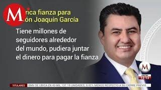 Histórica fianza para Naasón Joaquín García