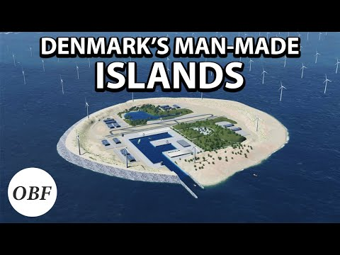 Why Denmark is building islands in the North Sea