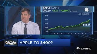 Wall Street's biggest Apple bull says the tech giant could hit $400