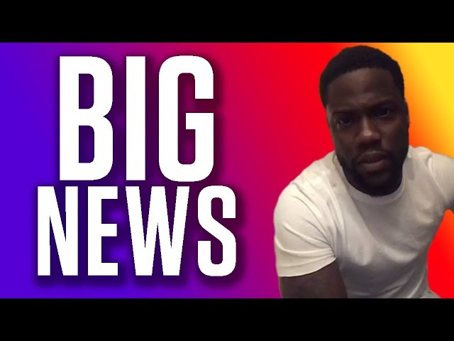 Kevin Hart Ready for BIG Announcement in Monaco
