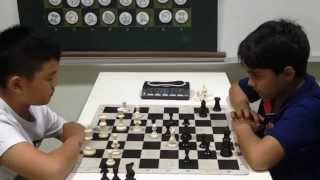Power chess game: Darion vs Samay I Sunday Chess TV I Chess for Kids I how to play chess ✔️