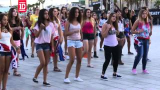 One Direction Flashmob Barcelona Take 2 (Official)