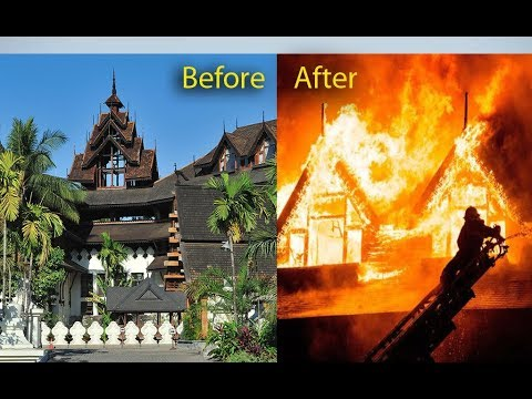 Kandawgyi Hotel ,Yangon, Myanmar,  before and after, iconic wooden hotel, famous with tourists