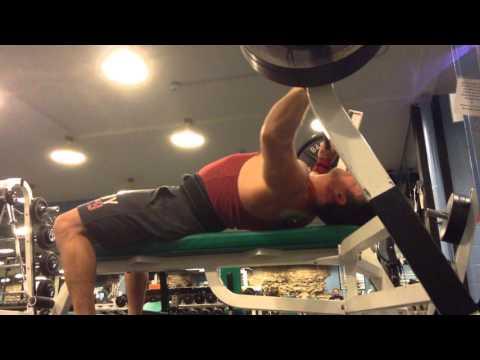 Mark Mcentee 380 lb. Bench @ 198 lb. Pre-Surgery!