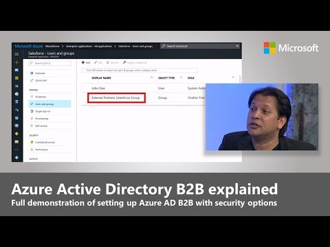 Azure Active Directory B2B Collaboration: simple, secure external sharing of your Apps and Services