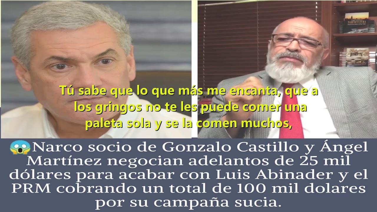 Angel Martinez, la guinea cobrando para desacreditar la oposicion