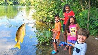 Gone Fishing Vlog with Heidi Zidane and Hadil Family fun
