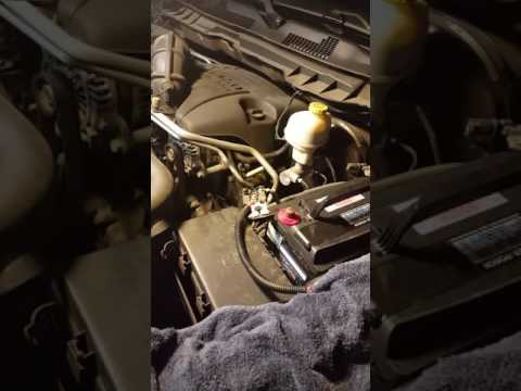 2014 Ram 1500 5 7 Battery Replacement Youtube
