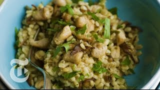 Thanksgiving Recipes: Barley 'risotto' With Turkey - Mark Bittman   The New York Times