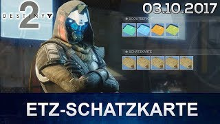 Destiny 2: Cayde Schatzkarte ETZ Guide (Deutsch/German)