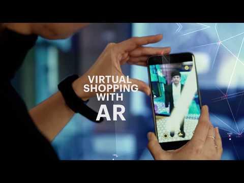Accenture Latvia Liquid Studio proof of concept for fashion retail industry.