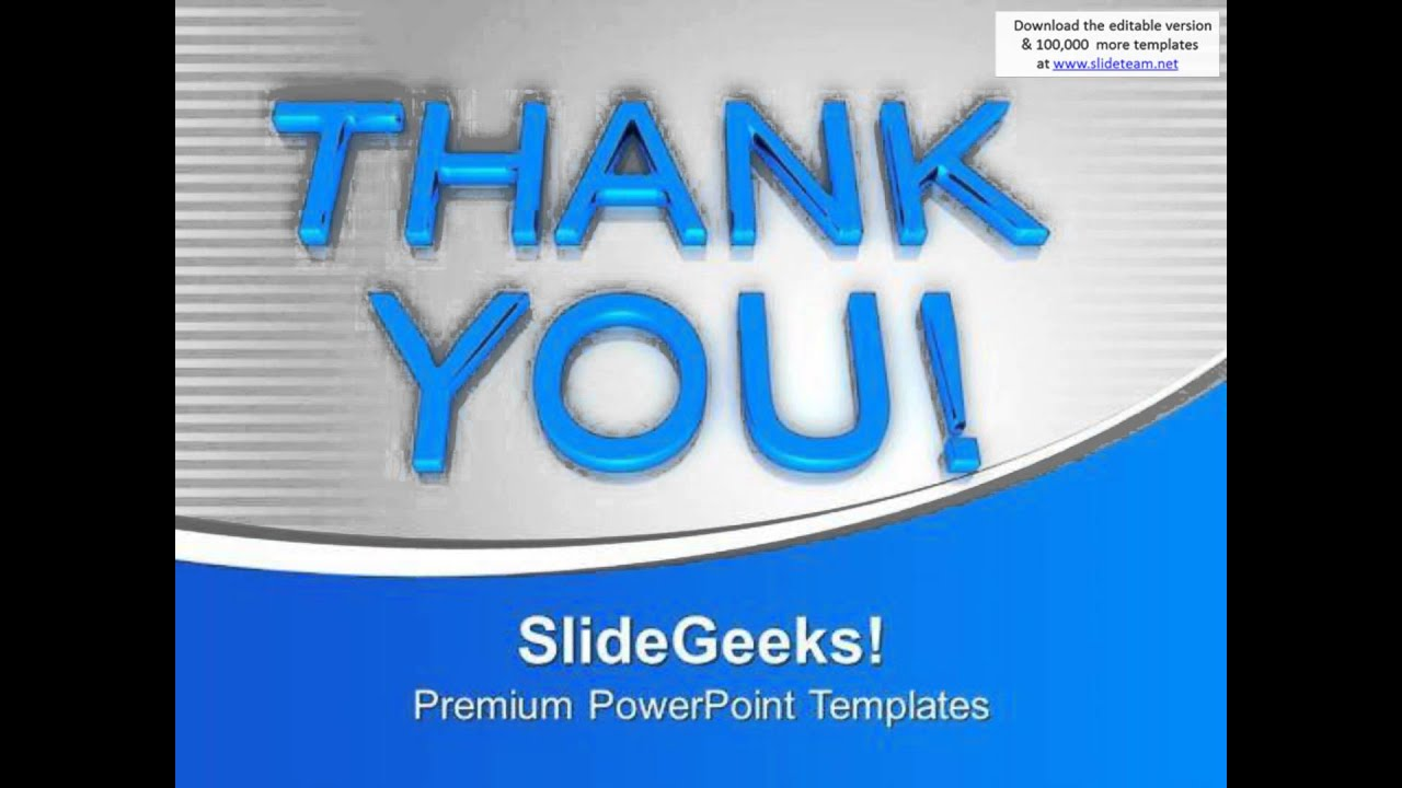 thank you metaphor powerpoint templates ppt backgrounds