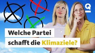 Klimaschutz: Was plant welche Partei?   Quarks Exklusiv