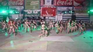 baile mujeres, guacara 2014