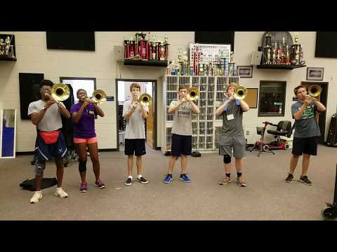 Til there was you trombone sextet practice 8517