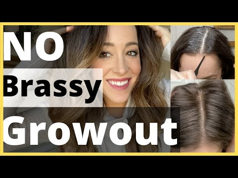 TUTORIAL : Easy Gray Blending for Dark Hair // Best way to blend gray on dark hair!! thumbnail