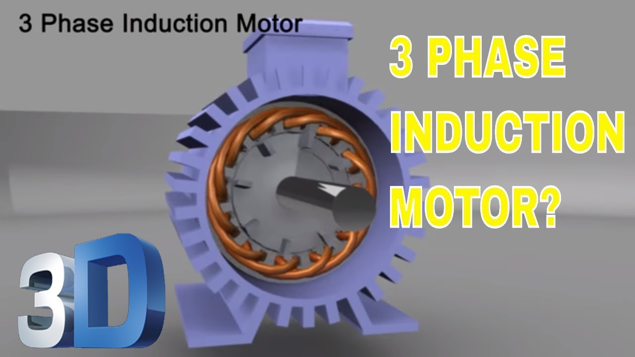 3 phase induction motor youtube for Three phase induction motor