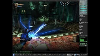 Bioshock 1 DXVK Test 48fps NVENC x64 + Sound (Core i3 8350K) con SteamPlay + Nvidia 415.22