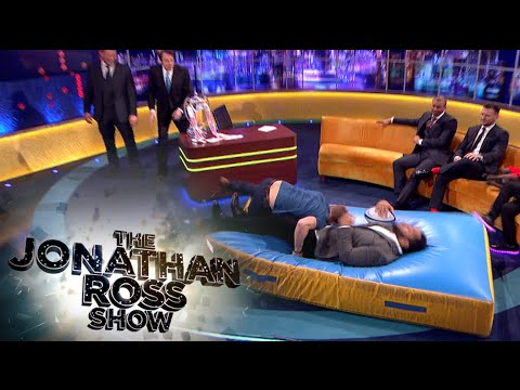 The England Rugby Team Teach Jonathan How To Tackle - The Jonathan Ross Show