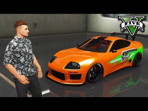 GTA V Online: MEU NOVO CARRO SUPRA do VELOZES!!! ($900,000)