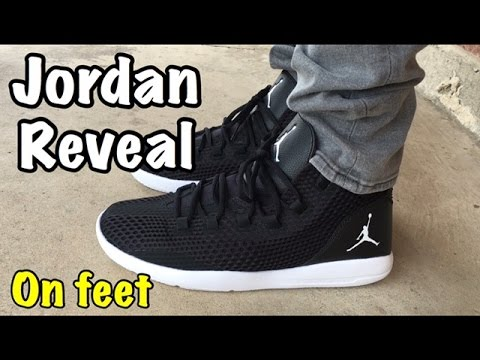 Air Jordan Reveal from  ChampsSports on feet - YouTube dba026c28