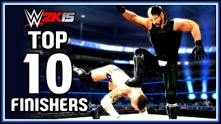 WWE 2K15 : Top 10 Finishers of 2014