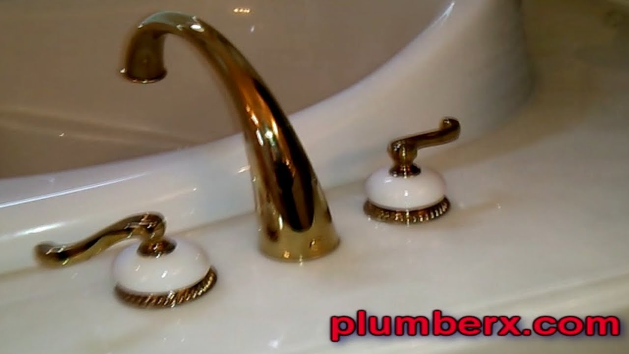 replace roman tub faucet.  Delta Roman Tub Faucet Repair YouTube