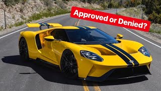 GOT A REPLY TO OUR FORD GT APPLICATION!