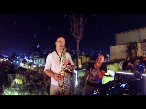 Techno House & Saxophone (Live Recording from IRIS Beirut)