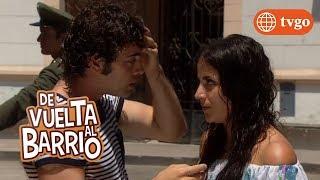 ¡Alex grita en frente de todos el embarazo de Sofía! - De Vuelta al Barrio 03/04/2018