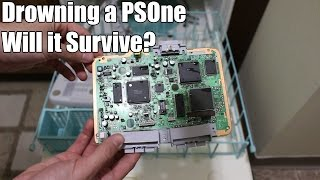 Game Console vs. Dishwasher - Does it Survive? Motherboard Included!