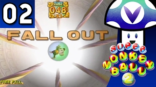 [Vinesauce] Vinny - Super Monkey Ball 2 (part 2) + Art!