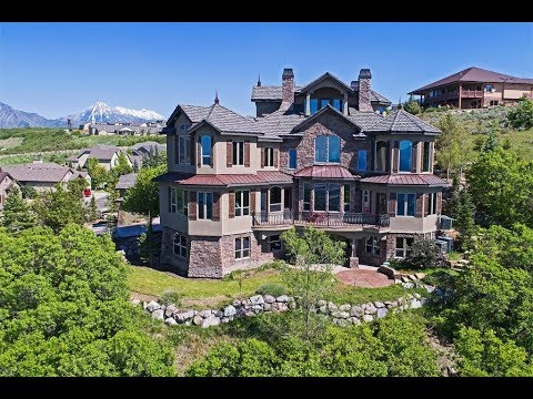 An Architectural Masterpiece with 270º Views in Salt Lake City, Utah