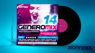 12 - DANZA - Zionn Mix Dj Jhonyes Club Mix - DAVID PROJECT Ft. KARINA ANDRADE