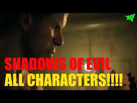 BLACK OPS 3 Zombies | ALL CHARACTERS (Shadows of Evil NEW Zombies Map!)