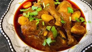Hard Chicken With Katler Bis Curry