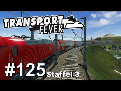 Transport Fever S3/#125: Endlich unterwegs mit der DB 102 [Let's Play][Gameplay][German][Deutsch]