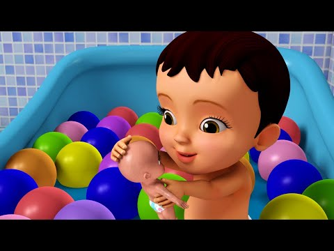 Download यह स्नान का समय है - Playing with Bath Toys   Hindi Rhymes for Children   Infobells