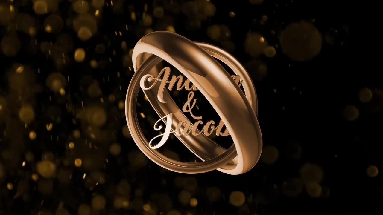 Rotating Wedding Ring After Effects Templates Youtube