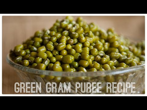 Healthy baby food recipes(6 to 24 months)|| Green gram/lentils purée recipe ||Easy & nutritious meal