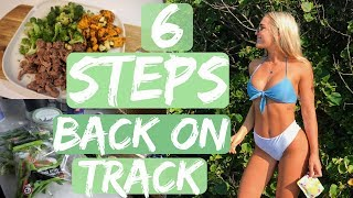 Whoops.. 6 steps to get back on track II What I Eat In A Day
