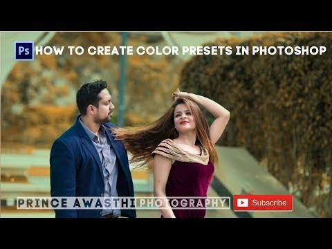 How To Create Color Presets In Photoshop Hindi Tutorial thumbnail