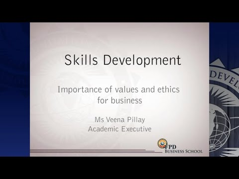 Importance of Values and Ethics for Business