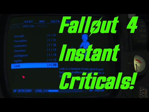 Fallout 4 How To Fill Your Critical Hit Meter In 1 Hit!